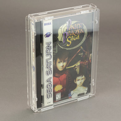 Sega Saturn Long Box Game Box - Köffin Protective Display Case