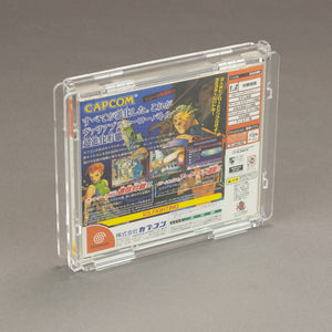Sega Dreamcast Single CD 12mm Game Box - Köffin Protective Display Case