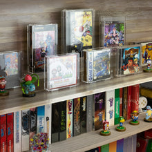 Load image into Gallery viewer, Amiibo Figure 2-Tier Display Stand Holder - Game Room Decor Organizer Mini Shelf for Toys, Collectibles, and Figurines