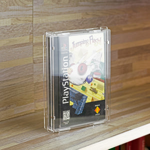 Sony PS1 PlayStation Original Large Game Box - Köffin Display Case