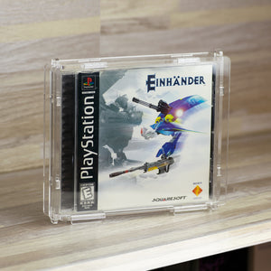 Sony PlayStation PS1 Single CD Game Box - Köffin Protective Display Case