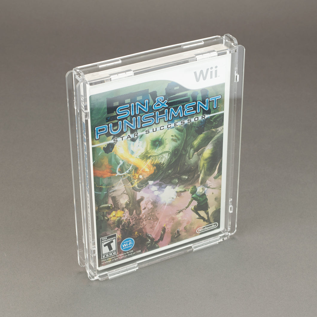 Nintendo Wii Game Box - Köffin Protective Display Case