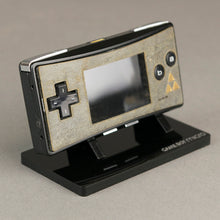 Load image into Gallery viewer, Game Boy Micro Real Stone Veneer Faceplate -  ZELDA MYSTIQUE EDITION