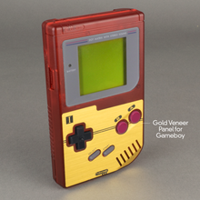 Load image into Gallery viewer, Famicom Style Gold Veneer for Nintendo Game Boy