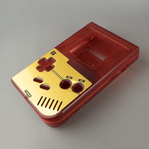Famicom Style Gold Veneer for Nintendo Game Boy