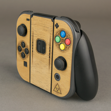Load image into Gallery viewer, Nintendo Switch Joy-Con Controller Zelda Real Wood Veneer Kit