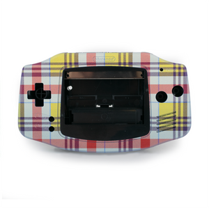 Game Boy Advance Replacement Shell - Benedict - UV-Printed Design