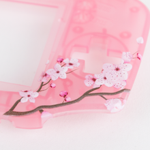Load image into Gallery viewer, Game Boy Advance Replacement Shell - Cherry Blossom - UV-Printed Design
