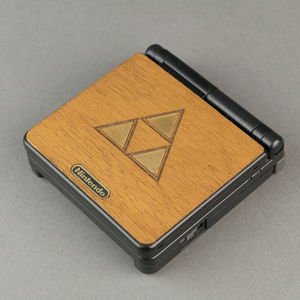 Gameboy GBA SP Zelda Real Wood Veneer Kit