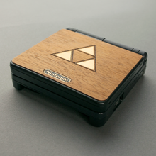Load image into Gallery viewer, Gameboy GBA SP Zelda Real Wood Veneer Kit