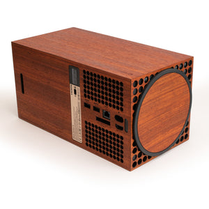 Xbox Series X Console Real Wood Veneer Kit