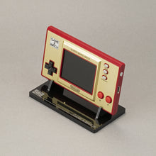 Load image into Gallery viewer, NEW: Game & Watch Super Mario Brothers Display Stand - Holder - Standard Edition - Game and Watch