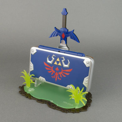 New 2DS XL Hylian Shield Edition Display Stand