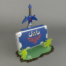 Load image into Gallery viewer, New 2DS XL Hylian Shield Edition Display Stand