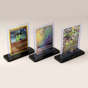 Trading Card Display Stand (Fits Toploader) for pokemon, YuGiOh, MtG, Sports, etc