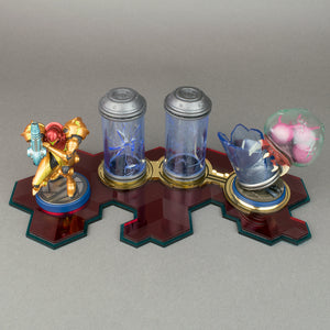 Metroid Off-The-Bottle Amiibo Displai