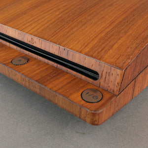 Sony PS3 Slim Console Real Wood Veneer Kit - PlayStation 3