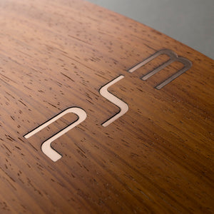 PS3 Slim Console Real Wood Veneer Kit - PlayStation 3