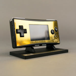 Game Boy Micro Legendary Gold Zelda Triforce Faceplate