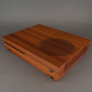 Xbox One S Console Real Wood Veneer Kit