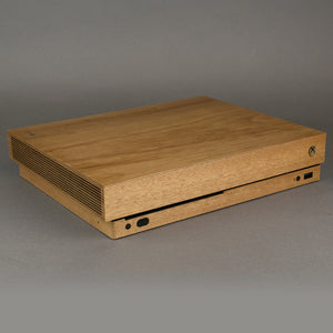 Xbox One X Console Real Wood Veneer Kit