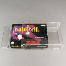 Load image into Gallery viewer, SNES Game Box - Köffin Display Case