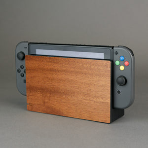 Nintendo Switch Console Dock Real Wood Veneer Kit