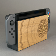 Load image into Gallery viewer, Nintendo Switch Console Zelda Wood Veneer Kit