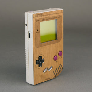 Original DMG Game Boy Portable Real Wood Veneer Kit