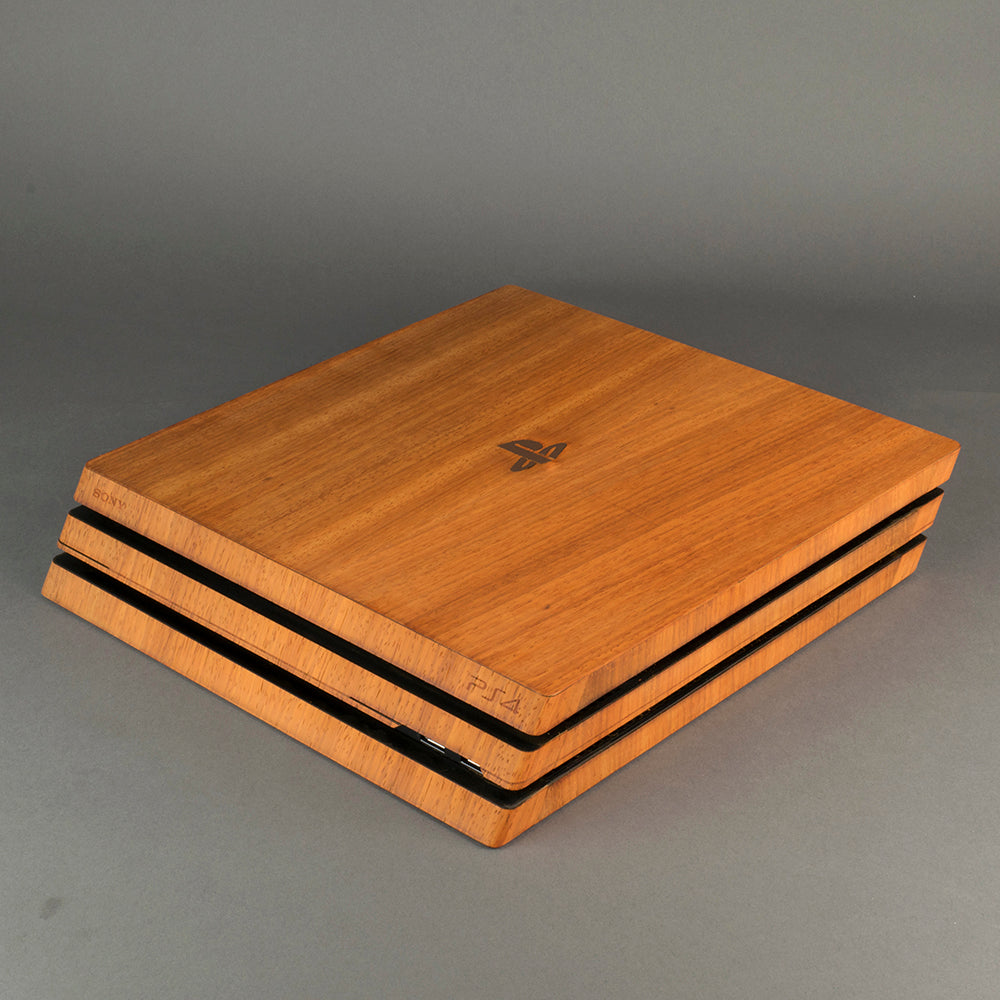 PS4 Pro Console Real Wood Veneer Kit - PlayStation 4
