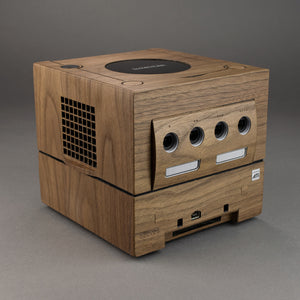 Nintendo GameCube + Game Boy Player Real Wood Veneer Kit
