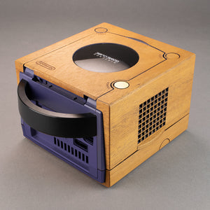 Nintendo GameCube Real Wood Veneer Kit