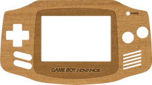 Load image into Gallery viewer, Game Boy Advance Real Wood Veneer Kit