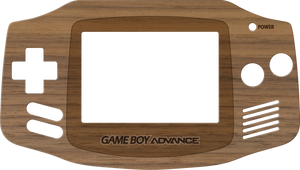 Game Boy Advance Wood Veneer Kit