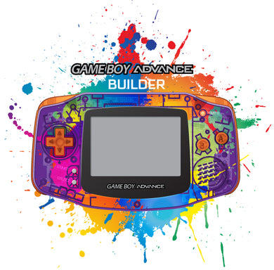 Game Boy Advance Shell Builder with Custom UV Printing option