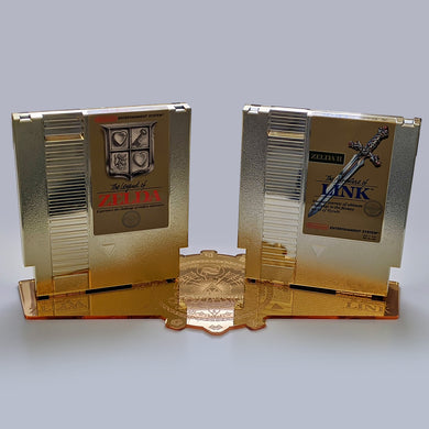 The Legend of Zelda NES Cartridge Display Stands