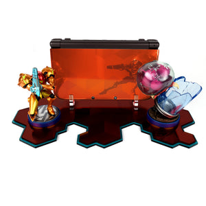 Samus Special Edition NEW 3DS XL and Amiibo Displai