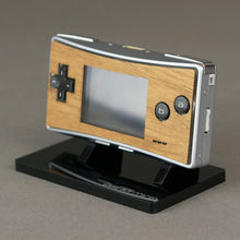 Load image into Gallery viewer, Game Boy Micro Real Wood Veneer Faceplate