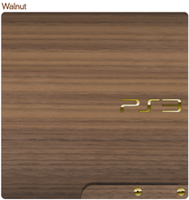 Load image into Gallery viewer, Sony PS3 Slim Console Real Wood Veneer Kit - PlayStation 3