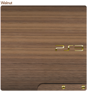 PS3 Slim Console Wood Veneer Kit