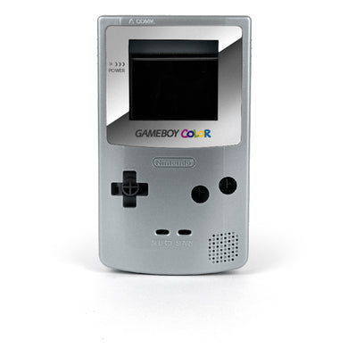 Game Boy Color Replacement Shell - Chromeeyum (Silver)