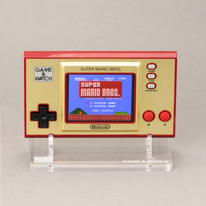 NEW: Game & Watch Super Mario Brothers Display Stand - Holder - Standard Edition - Game and Watch