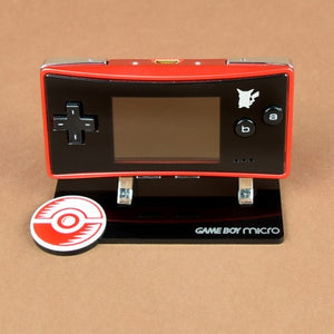 Pokémon Center Special Edition Game Boy Micro Display Stand