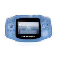 Load image into Gallery viewer, Game Boy Advance Replacement Shell - Inky (Blue Glow in the Dark!)