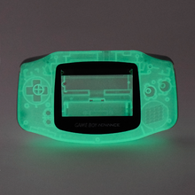 Load image into Gallery viewer, Game Boy Advance Replacement Shell - Casper (Green Glow in the Dark!)