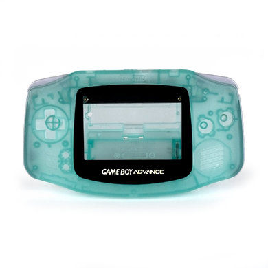 Game Boy Advance Replacement Shell - Casper (Green Glow in the Dark!)
