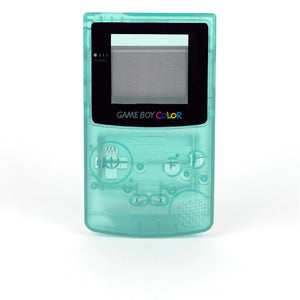 Game Boy Color Replacement Shell - Krypton (Green Glow-in-the-Dark!)