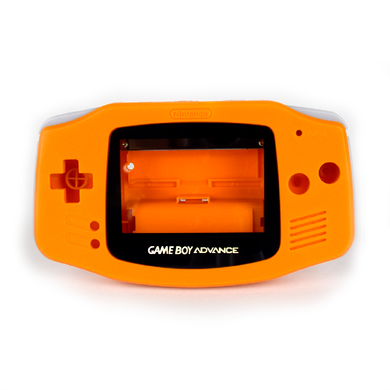 Game Boy Advance Replacement Shell - Mandarin
