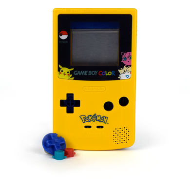 Game Boy Color Replacement Shell - Porkēmans