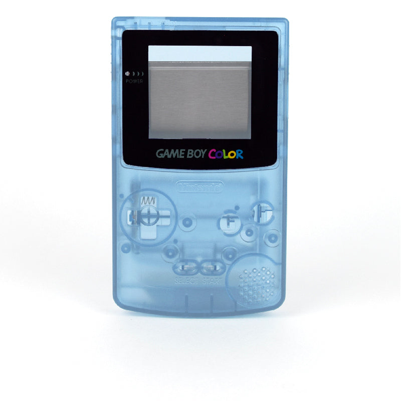Game Boy Color Replacement Shell - Xenon (Blue Glow-in-the-Dark!)